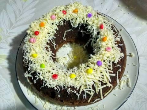 Resep Brownis kukus chocolatos oleh Aynie Oscar Resep Brownis kukus chocolatos Dari Aynie Oscar