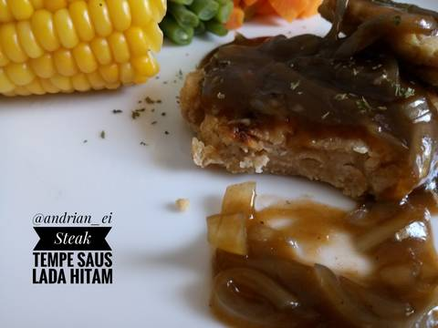 Steak Tempe Saus Lada Hitam