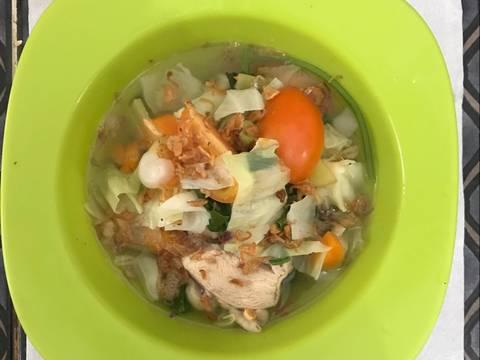 Sop Ayam Simple