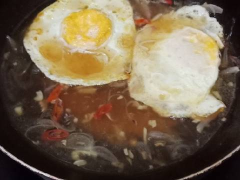 Telur ceplok saos tiram #BikinRamadhanBerkesan