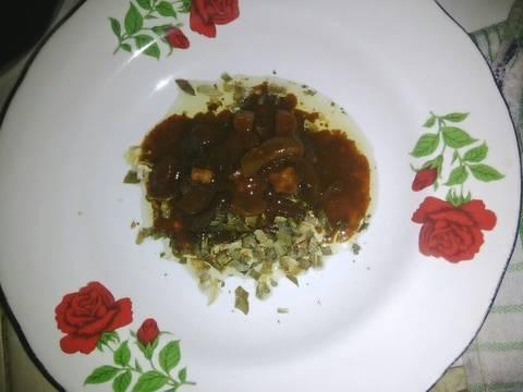 3.Mi goreng ayam jamur