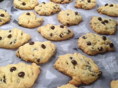 Milky chocochips cookies recipe step 4 photo