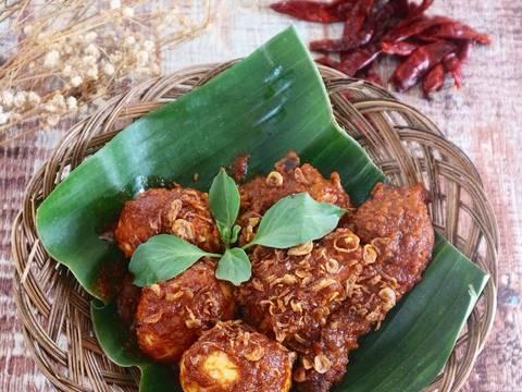 Tuang ke piring saji, taburi bawang goreng, Sajikan bersama nasi hangat