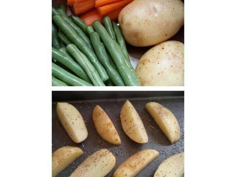 Resep Kentang Panggang Ayam untuk Program Diet