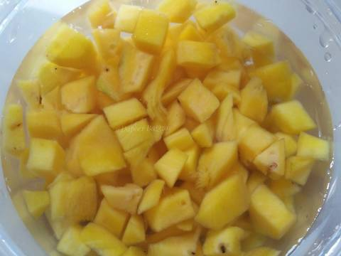 Es Jelly Mangga recipe step 2 photo