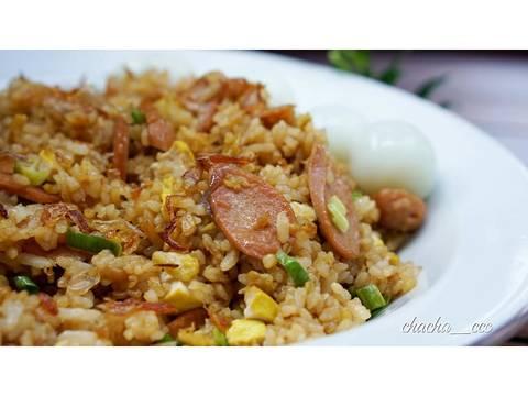 Nasi Goreng Sosis Tahu