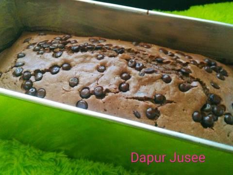 Bolu coklat simple (no mixer, 1 telur) #BikinRamadhanBerkesan