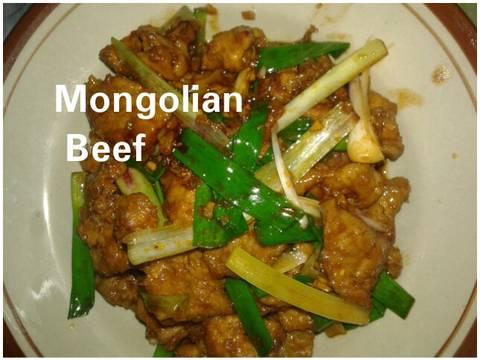 Mongolian beef #bikinramadanberkesan
