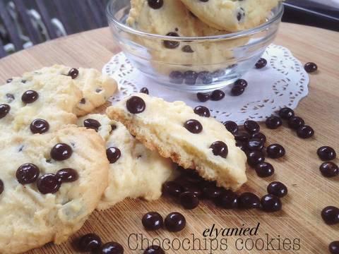 Milky chocochips cookies recipe step 6 photo