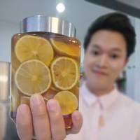 มะนาวดองน้ำผึ้ง ลดพุง