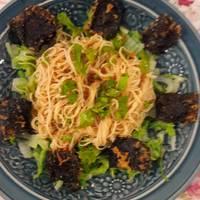 ยำขนมจีน(เจ)