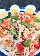 ยำมาม่าไข่ต้ม คลีน #กินผักรักสุขภาพ5