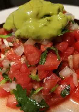 Tomato Salsa Avocado sauce ซัลซ่ามะเขือเทศ อโวคาโด้ซอส (คลีน)