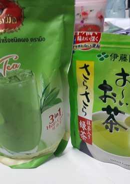 ชาเขียวนม 3in1 แบบห๊อมหอมม
