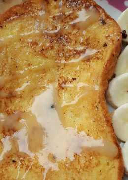 อาหารเช้า:ขนมปังชุบไข่