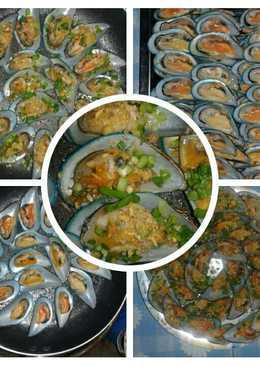 หอยแมลงภู่ผัดกะเทียม
