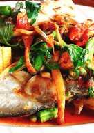 ปลาเนื้ออ่อนผัดฉ่า