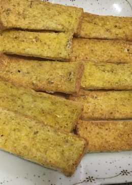 ขนมปังกระเทียมโฮลวีต