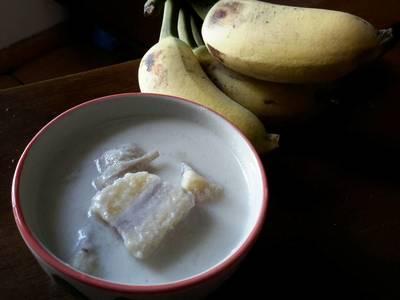 กล้วยบวชชีกะทินมสด