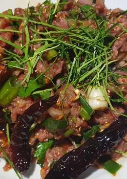 ก้อยเนื้อ ก้อยมะนาว(เด็กนอก)