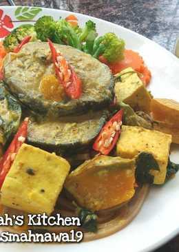 แกงเผ็ดใต้ปลาดุก&เต้าหู้ #จานนี้ดีกินแล้วรวย