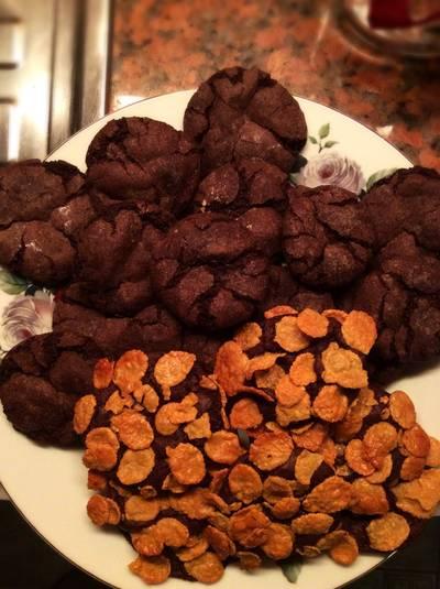 คุ๊กกี้หน้าแตกกลูเตนฟรี🍪 Chewy cookies gluten free