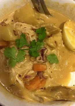 Yellow curry noodle