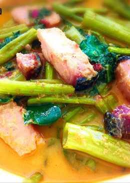 ~แกงคั่วผักบุ้ง~