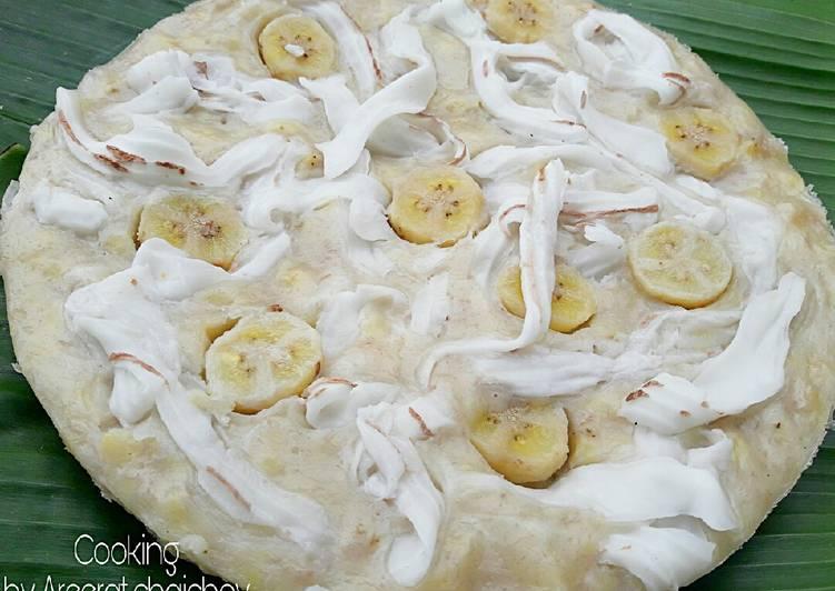 ขนมกล้วย #สูตร2ใส่แป้งท้าวยายม่อม