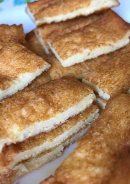 ขนมปังไข่ #เป็นเมนูที่แสนง่าย ที่เรากินตั้งแต่เด็ก #ช่วงนี้เรากินมังสวิรัติ นมและไข่