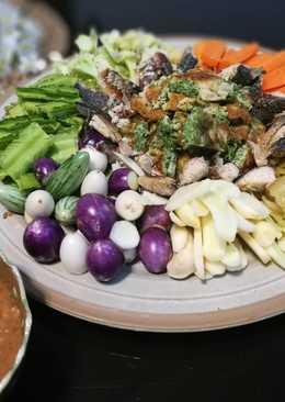 น้ำพริกกะปิ น้ำพริกปลาทูตำ ประหยัด อร่อยยกบ้าน 🏡