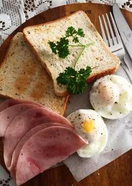 ไข่ต้ม ไมโครเวฟ ชุดอาหารเช้าง่ายๆ สไตส์จุ๋ม