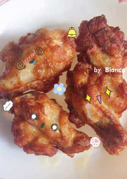 น่องไก่ชุปแป้งทอด