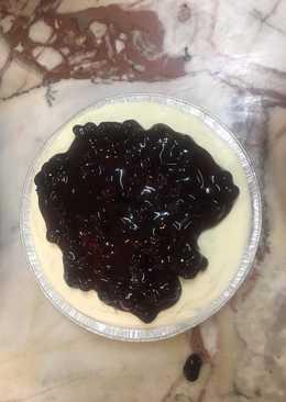 บลูเบอรี่ ชีสพาย bluberry cheese pie