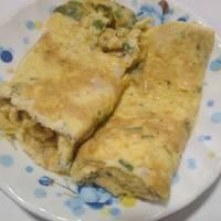Omurice (Cơm chiên cuộn trứng)