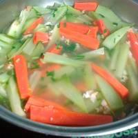 Canh su cà rốt