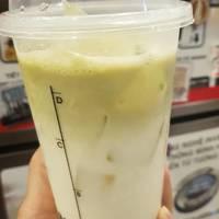 Matcha Iced Latte