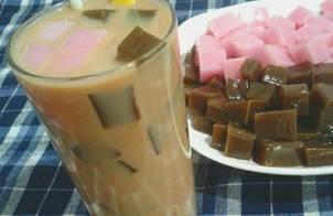 Trà Sữa pudding hương dâu và sô cô la!!!