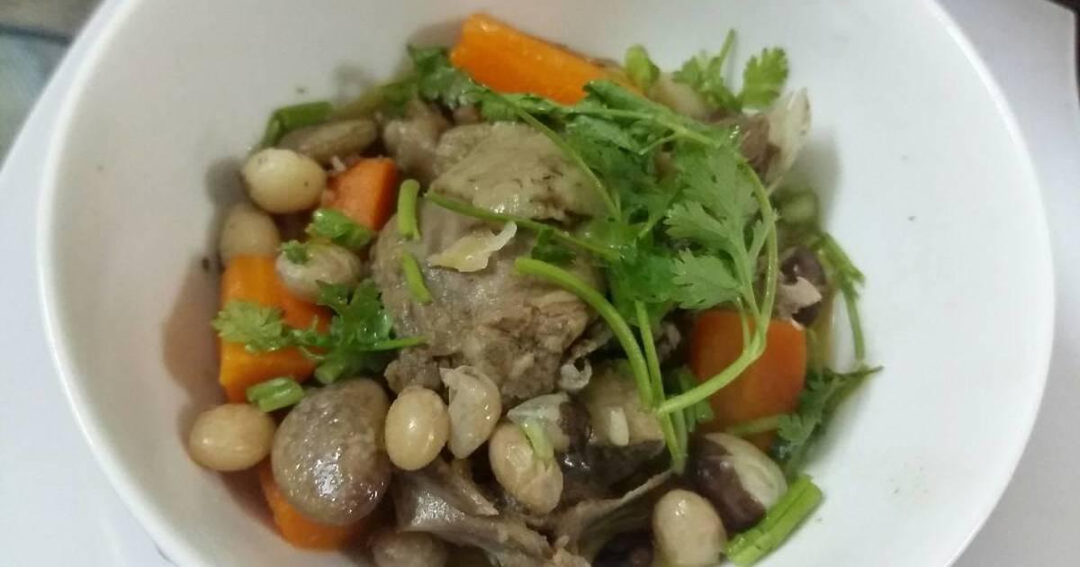Vịt nấu đậu nước dừa