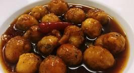 Hình ảnh món Trứng cút rim
