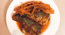 Hình ảnh món Cá nục kho măng khô