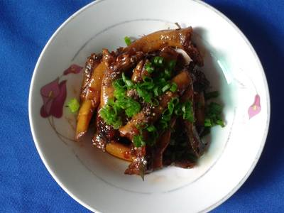 Cá Bống Dừa Kho Tiêu