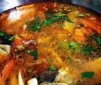 Ảnh đại đại diện món Nước Lẩu Kimchi Với Rau Củ Mài (Siêu Dễ)