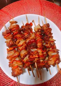 Thịt nướng rau củ
