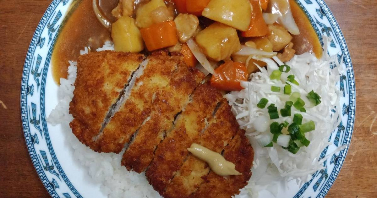 KAREI & TONKATSU (Cơm cà ri Nhật & Thịt heo chiên xù)