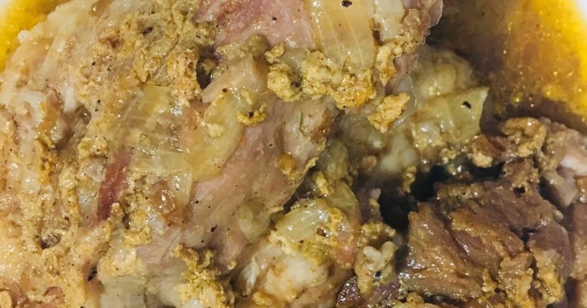 Thịt bung (hầm nhừ) kiểu miền Trung