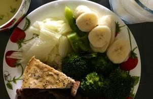 Bữa ăn dinh dưỡng của Pi ???❤️