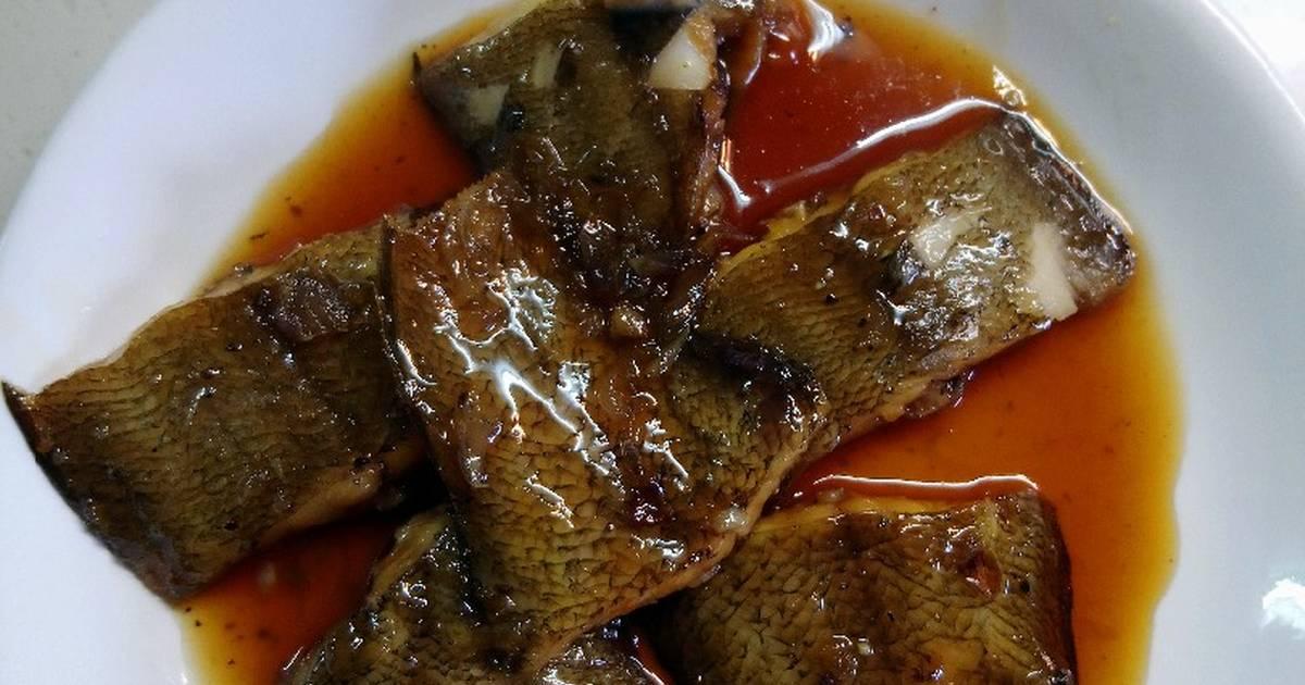Cá lưỡi trâu kho caramen