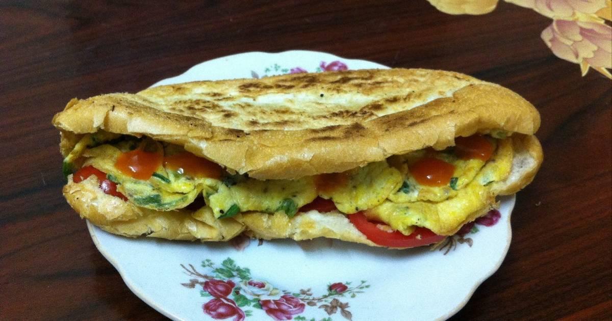 Bánh mì trứng đơn giản