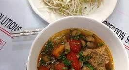 Hình ảnh món Riêu cua chay nấu nước dừa tươi ngon tuyệt